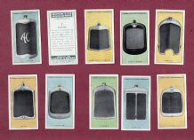 Collectible cigarette cards set Motor Car Radiators